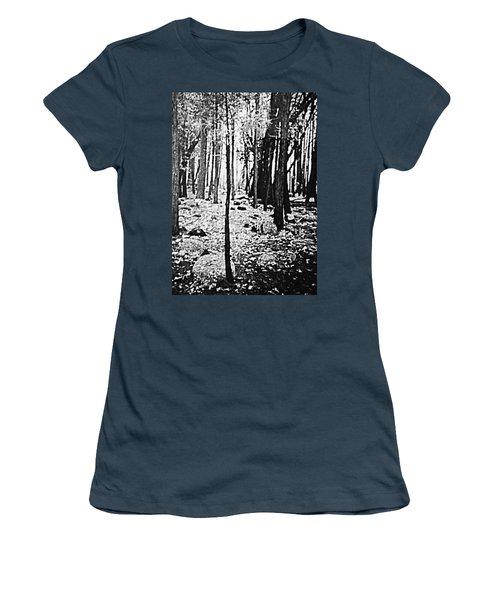 Yosemite National Park Women's T-Shirt (Junior Cut) by Debra Lynch