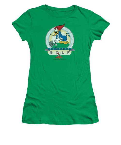 Woody Woodpecker - Classic Golf Women's T-Shirt (Junior Cut) by Brand A