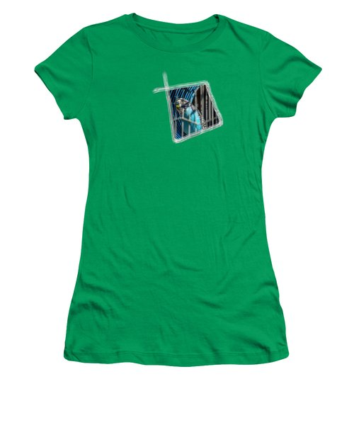 Blue Bird Women's T-Shirt (Junior Cut) by Aissa Belbaz