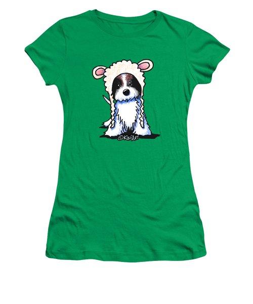 Coton De Tulear Women's T-Shirt (Junior Cut) by Kim Niles