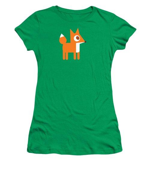 Pbs Kids Fox Women's T-Shirt (Junior Cut) by Pbs Kids