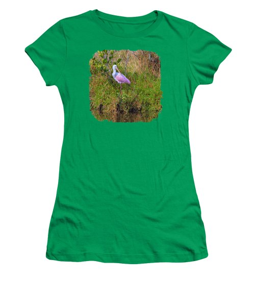 Spoonie Art 2 Women's T-Shirt (Junior Cut) by John M Bailey