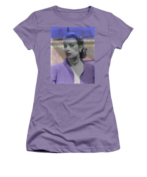 Grace Kelly - Featured In Comfortable Art Group Women's T-Shirt (Junior Cut) by EricaMaxine  Price