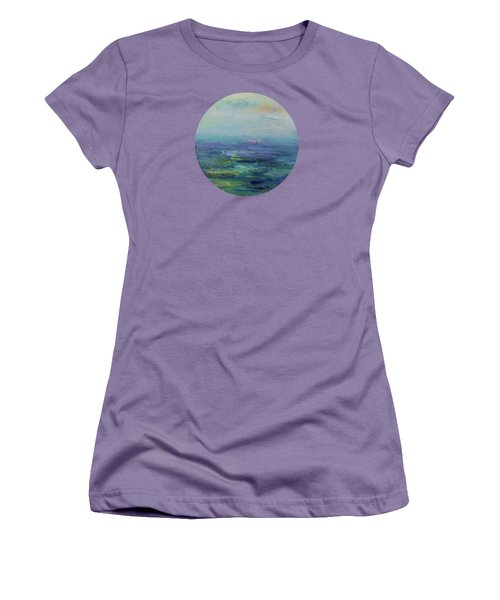 A Place For Peace Women's T-Shirt (Junior Cut) by Mary Wolf