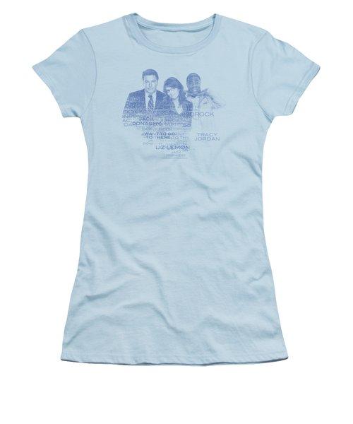 30 Rock - Words Women's T-Shirt (Junior Cut) by Brand A
