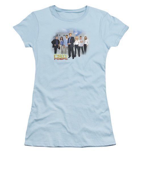 Csi - Miami Cast Women's T-Shirt (Junior Cut) by Brand A