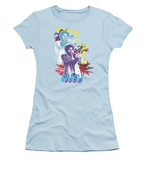 Miami Vice - Freeze Women's T-Shirt (Junior Cut) by Brand A
