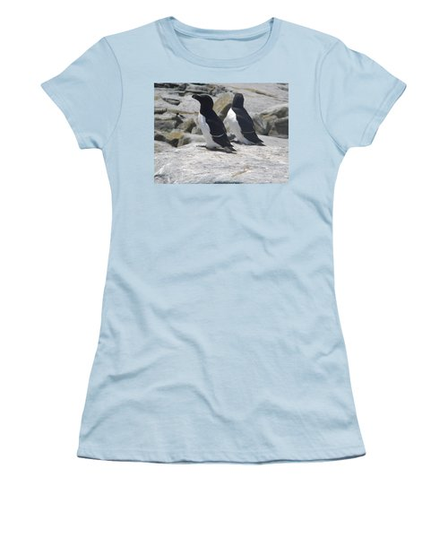 Razorbills 2 Women's T-Shirt (Junior Cut) by James Petersen
