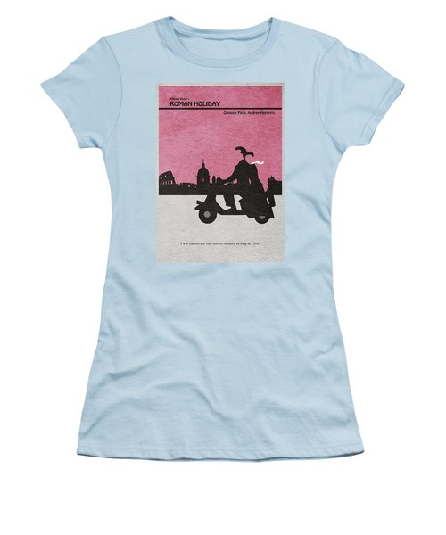 Roman Holiday Women's T-Shirt (Junior Cut) by Ayse Deniz