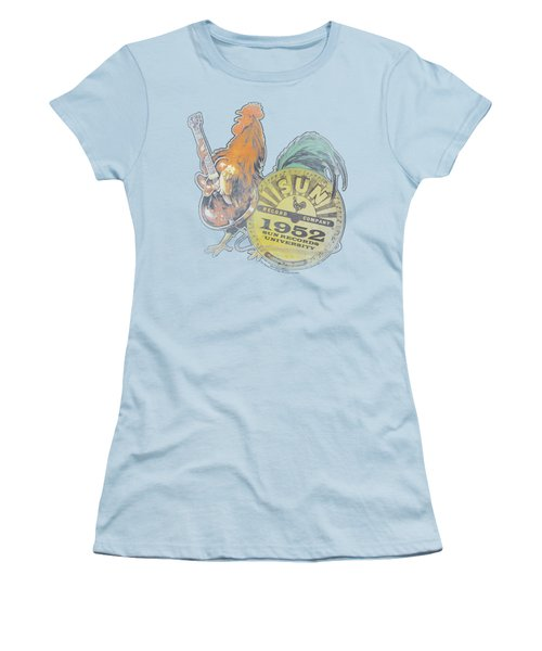 Sun - Rockin Rooster Women's T-Shirt (Junior Cut) by Brand A