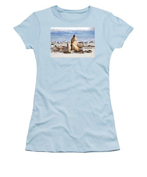 The Choir Women's T-Shirt (Junior Cut) by Mike Dawson