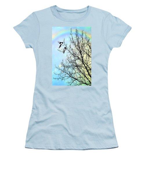 Two For Joy Women's T-Shirt (Junior Cut) by John Edwards
