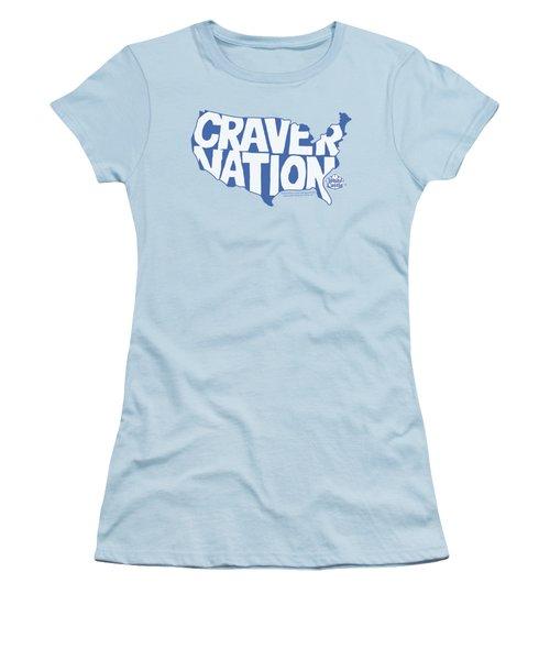 White Castle - Craver Nation Women's T-Shirt (Junior Cut) by Brand A
