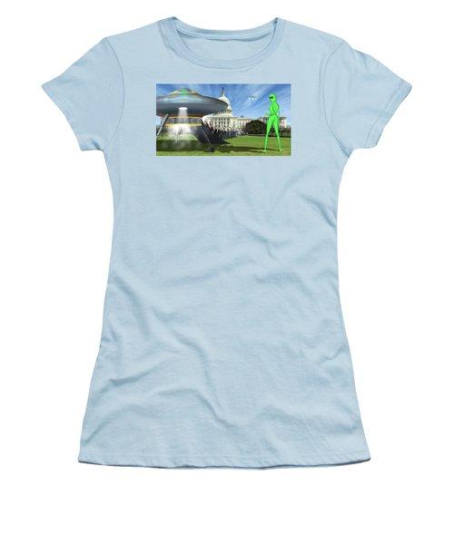 Wip - Washington Field Trip Women's T-Shirt (Junior Cut) by Mike McGlothlen