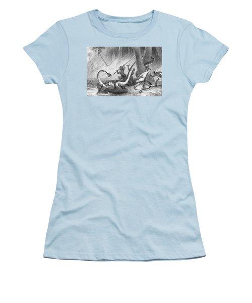 Boa Constrictor Attack Women's T-Shirt (Junior Cut) by Granger