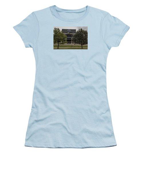 Penn State Beaver Stadium  Women's T-Shirt (Junior Cut) by John McGraw