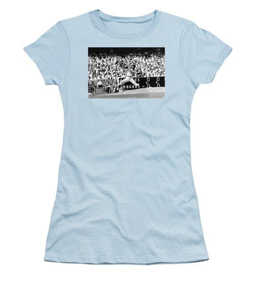 Sandy Koufax (1935- ) Women's T-Shirt (Junior Cut) by Granger