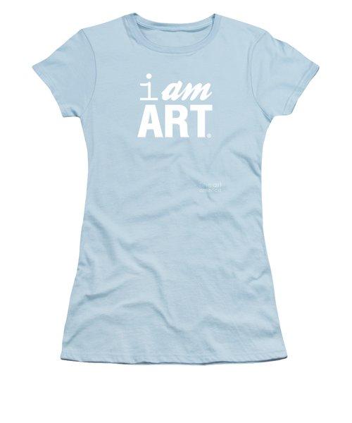 I Am Art- Shirt Women's T-Shirt (Junior Cut) by Linda Woods