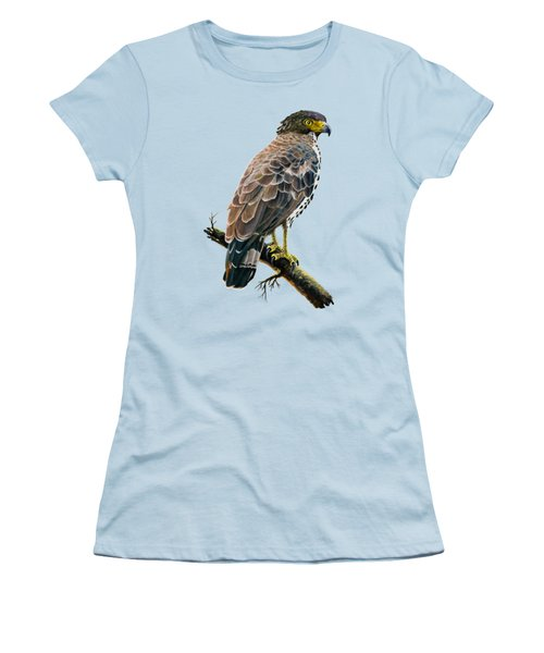 Congo Serpent Eagle Women's T-Shirt (Junior Cut) by Anthony Mwangi