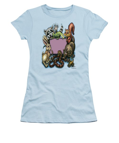 Critters Women's T-Shirt (Junior Cut) by Kevin Middleton