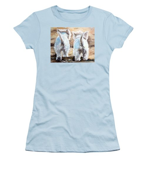 Farewell Women's T-Shirt (Junior Cut) by Mary Sparrow