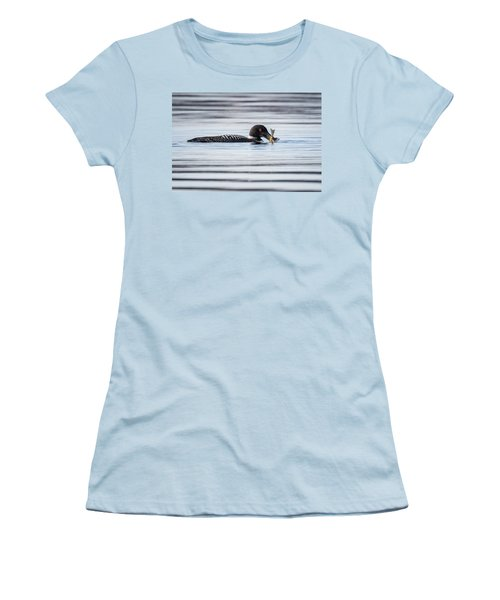 Fish For Lunch Women's T-Shirt (Junior Cut) by Bill Wakeley