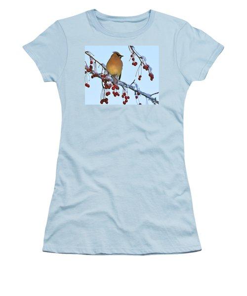 Frozen Dinner  Women's T-Shirt (Junior Cut) by Tony Beck