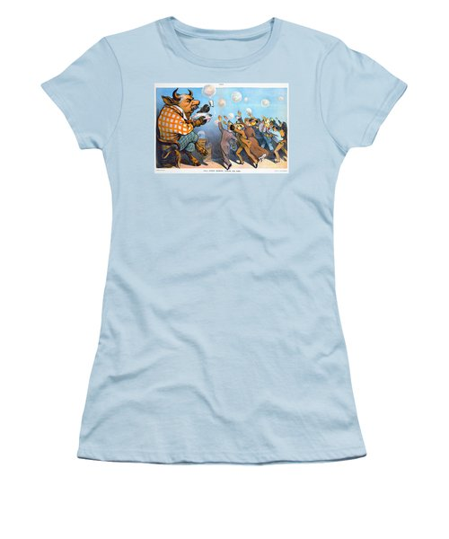 John Pierpont Morgan Women's T-Shirt (Junior Cut) by Granger