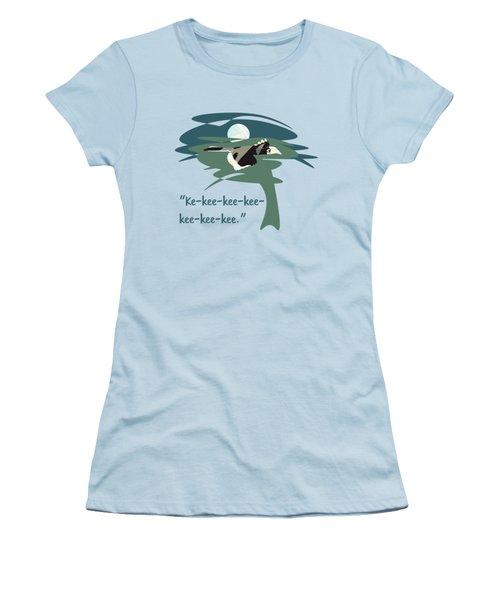 Kelingking Hornbill Women's T-Shirt (Junior Cut) by Geckojoy Gecko Books