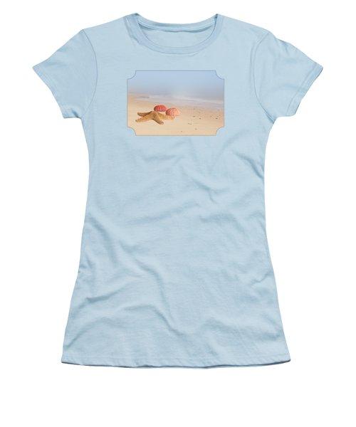 Memories Of Summer Women's T-Shirt (Junior Cut) by Gill Billington