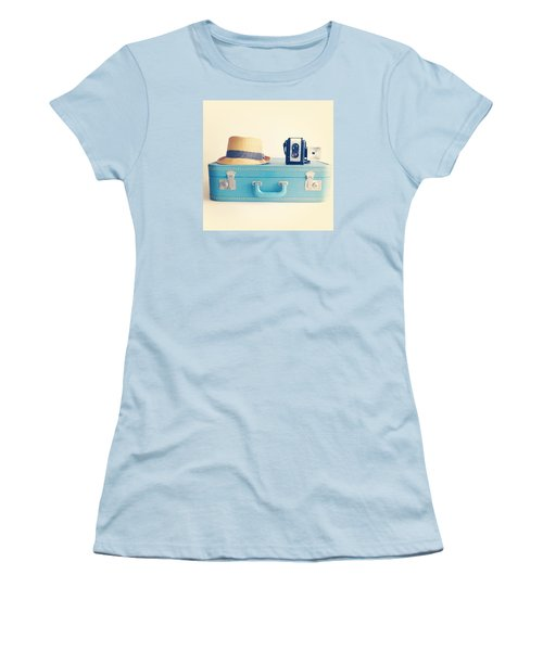 On The Road Women's T-Shirt (Junior Cut) by Colleen VT