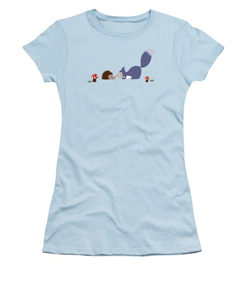 Say Yes To New Adcentures Women's T-Shirt (Junior Cut) by Kathrin Legg