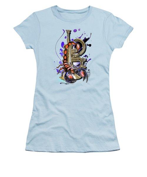 Scorpio Women's T-Shirt (Junior Cut) by Melanie D