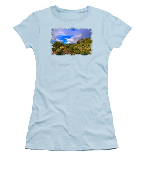 Sonoran Afternoon H11 Women's T-Shirt (Junior Cut) by Mark Myhaver