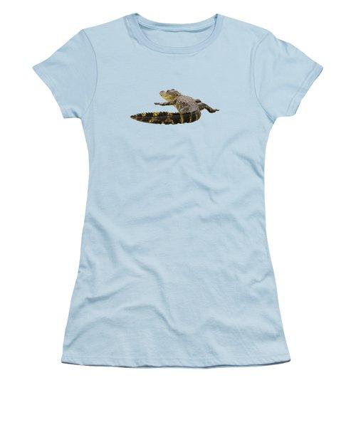 Sunning On The Shore Women's T-Shirt (Junior Cut) by Zina Stromberg
