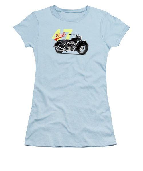 The 1947 Chief Women's T-Shirt (Junior Cut) by Mark Rogan