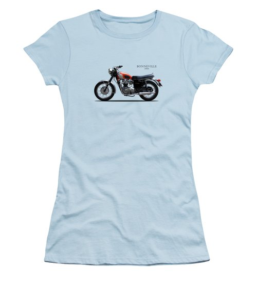 The 69 Bonnie Women's T-Shirt (Junior Cut) by Mark Rogan
