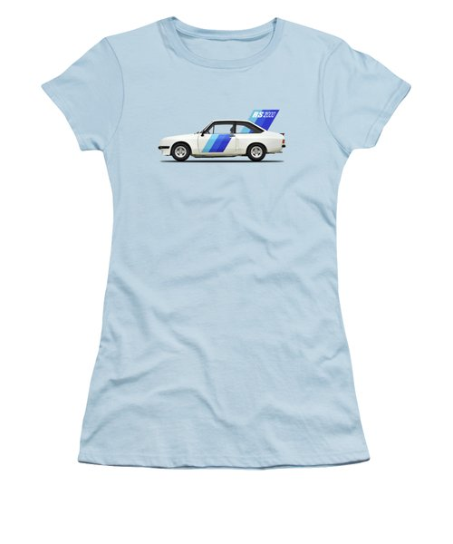 The Ford Escort Rs2000 Women's T-Shirt (Junior Cut) by Mark Rogan