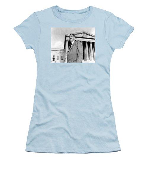 Thurgood Marshall Women's T-Shirt (Junior Cut) by Granger