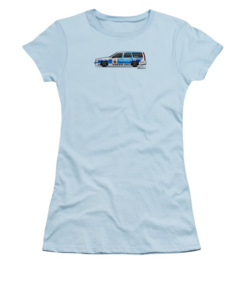 Volvo 850r Twr British Touring Car Championship  Women's T-Shirt (Junior Cut) by Monkey Crisis On Mars