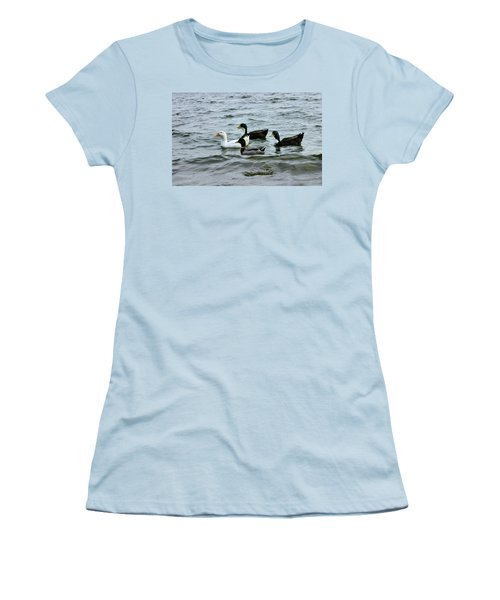 Yak Yak Yak One In Every Crowd Women's T-Shirt (Junior Cut) by Kristin Elmquist