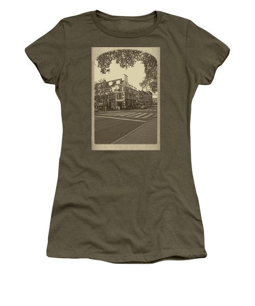 Corner Room Women's T-Shirt (Junior Cut) by Tom Gari Gallery-Three-Photography