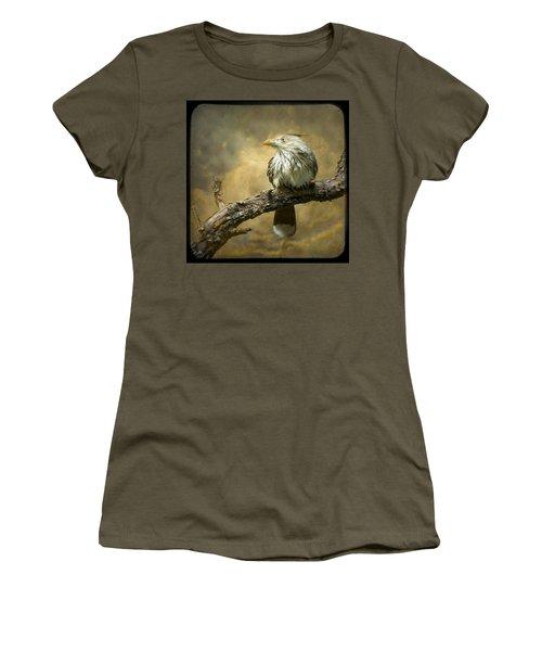 Exotic Bird - Guira Cuckoo Bird Women's T-Shirt (Junior Cut) by Gary Heller