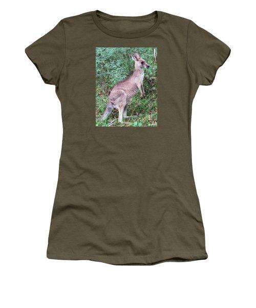Grazing In The Grass Women's T-Shirt (Junior Cut) by Ellen Henneke