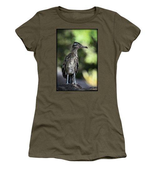 Greater Roadrunner  Women's T-Shirt (Junior Cut) by Saija  Lehtonen