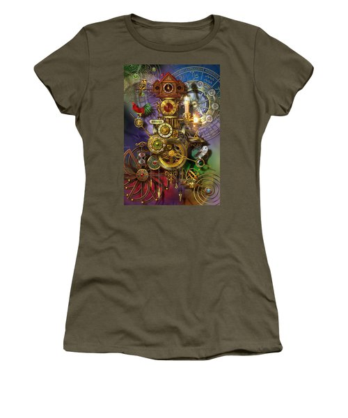 Its About Time Women's T-Shirt (Junior Cut) by Ciro Marchetti