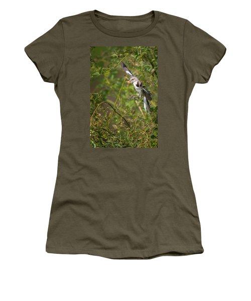 Mockingbird Women's T-Shirt (Junior Cut) by Bill Wakeley