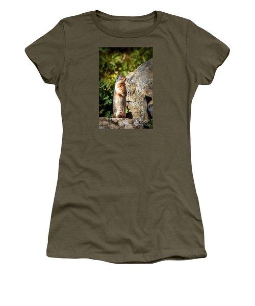 The Marmot Women's T-Shirt (Junior Cut) by Robert Bales