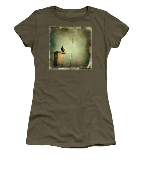Turkey Vulture Women's T-Shirt (Junior Cut) by Gothicrow Images