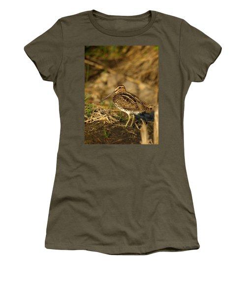 Wilson's Snipe Women's T-Shirt (Junior Cut) by James Peterson